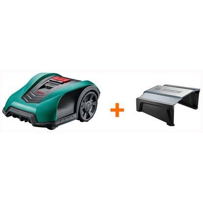 bosch m hroboter indego 400 inkl m hroboter garage obi. Black Bedroom Furniture Sets. Home Design Ideas