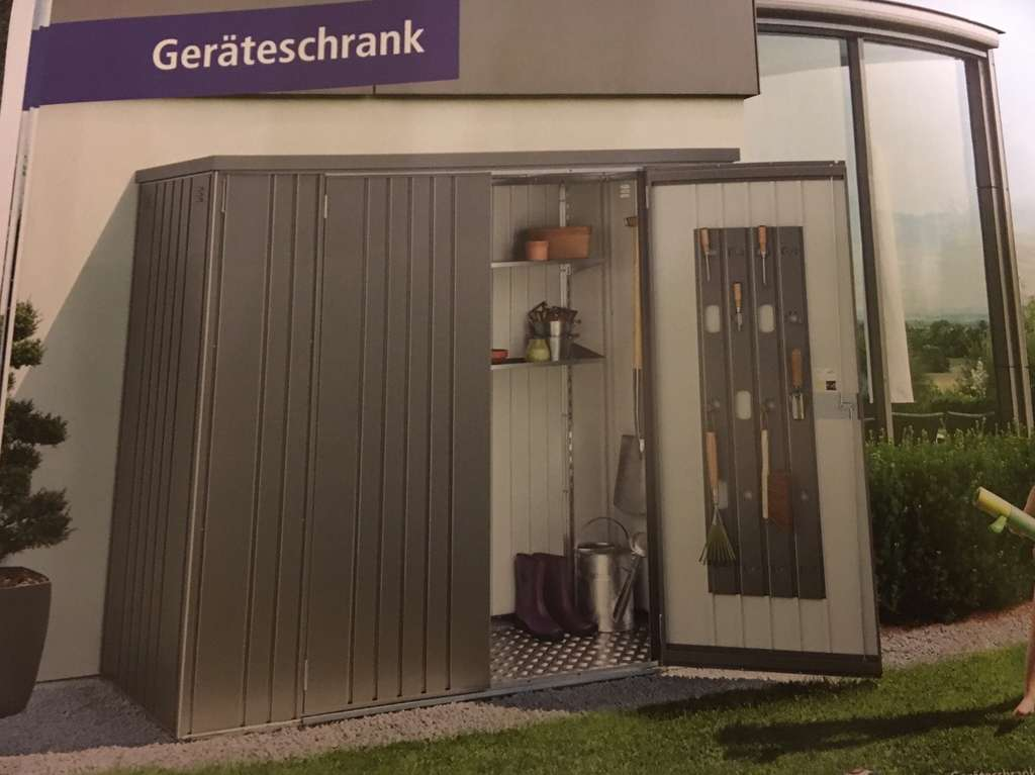 Auto Kühlschrank Bauhaus : Biohort geräteschrank minus minus bauhaus tpg