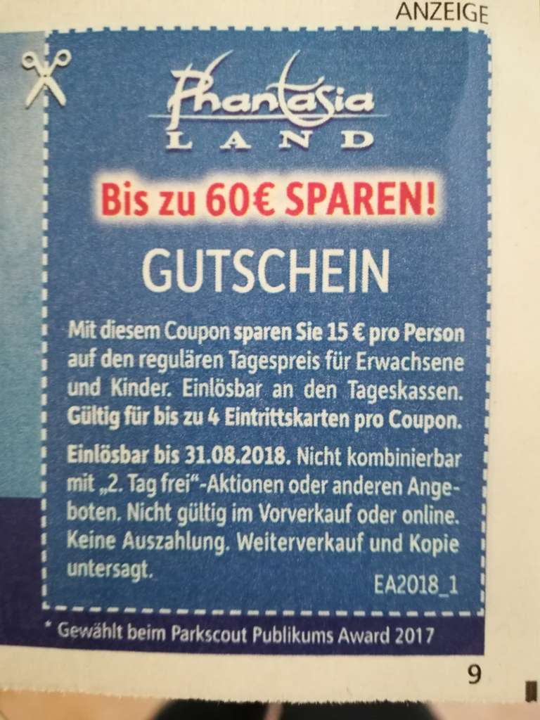 Vacation deals boxing day - Phantasialand Gutscheine Gewinnen