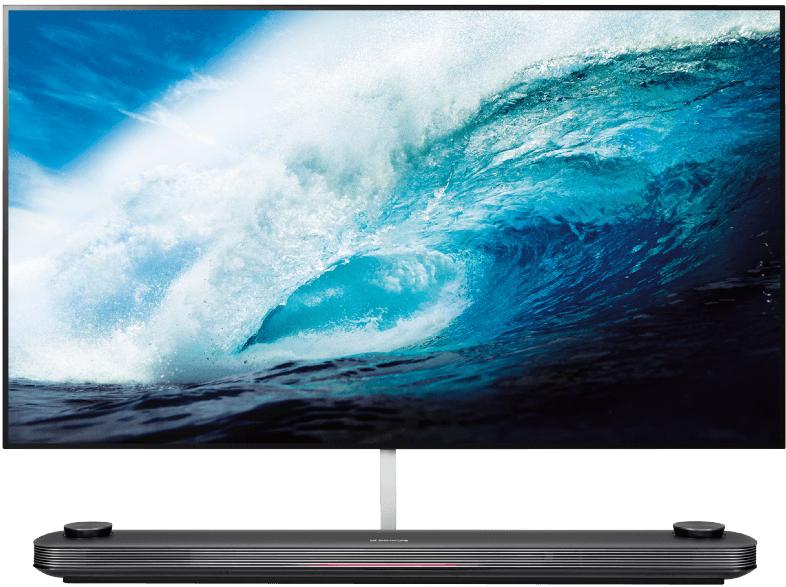 lg oled65w7v oled tv flexible 65 zoll oled 4k smart tv. Black Bedroom Furniture Sets. Home Design Ideas