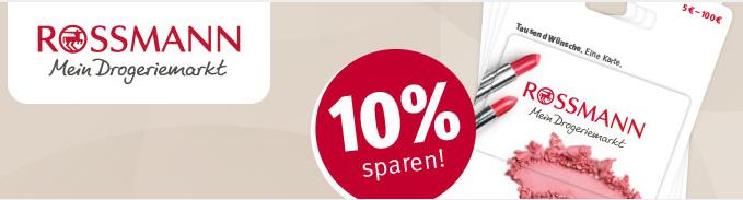 Postbank Vorteilswelt Rossmann Mit 10 Rabatt Mydealzde