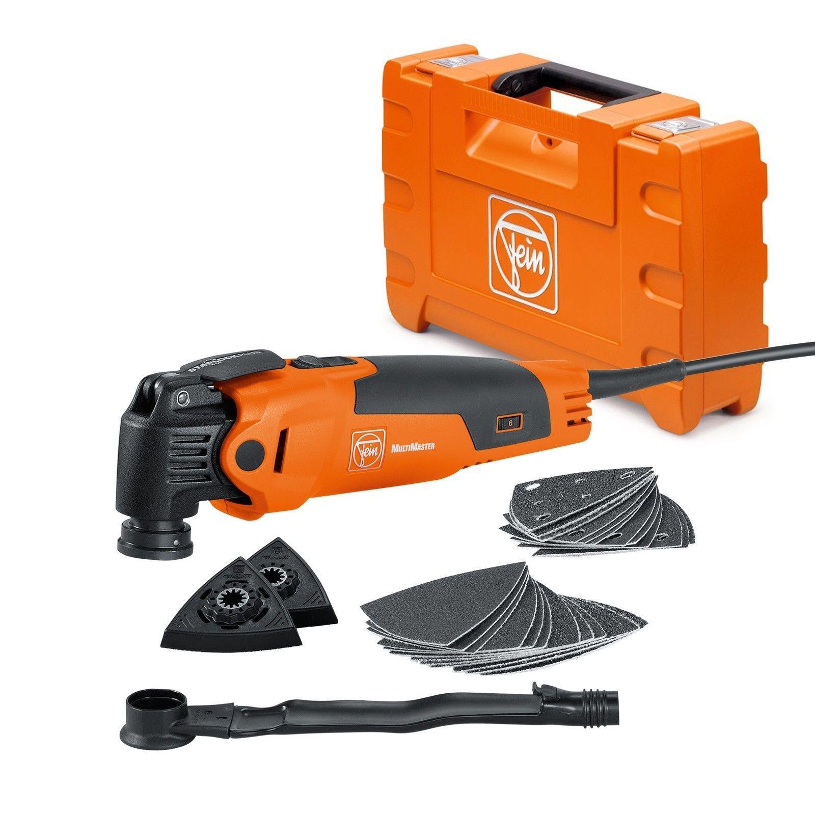 Fein MultiMaster FMM 350 QSL Basic im Koffer + Staubabsaugung für ...