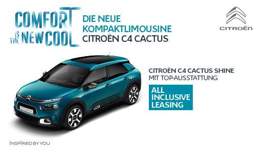 c4 cactus im all inclusive leasing 24 monate all inclusiv. Black Bedroom Furniture Sets. Home Design Ideas