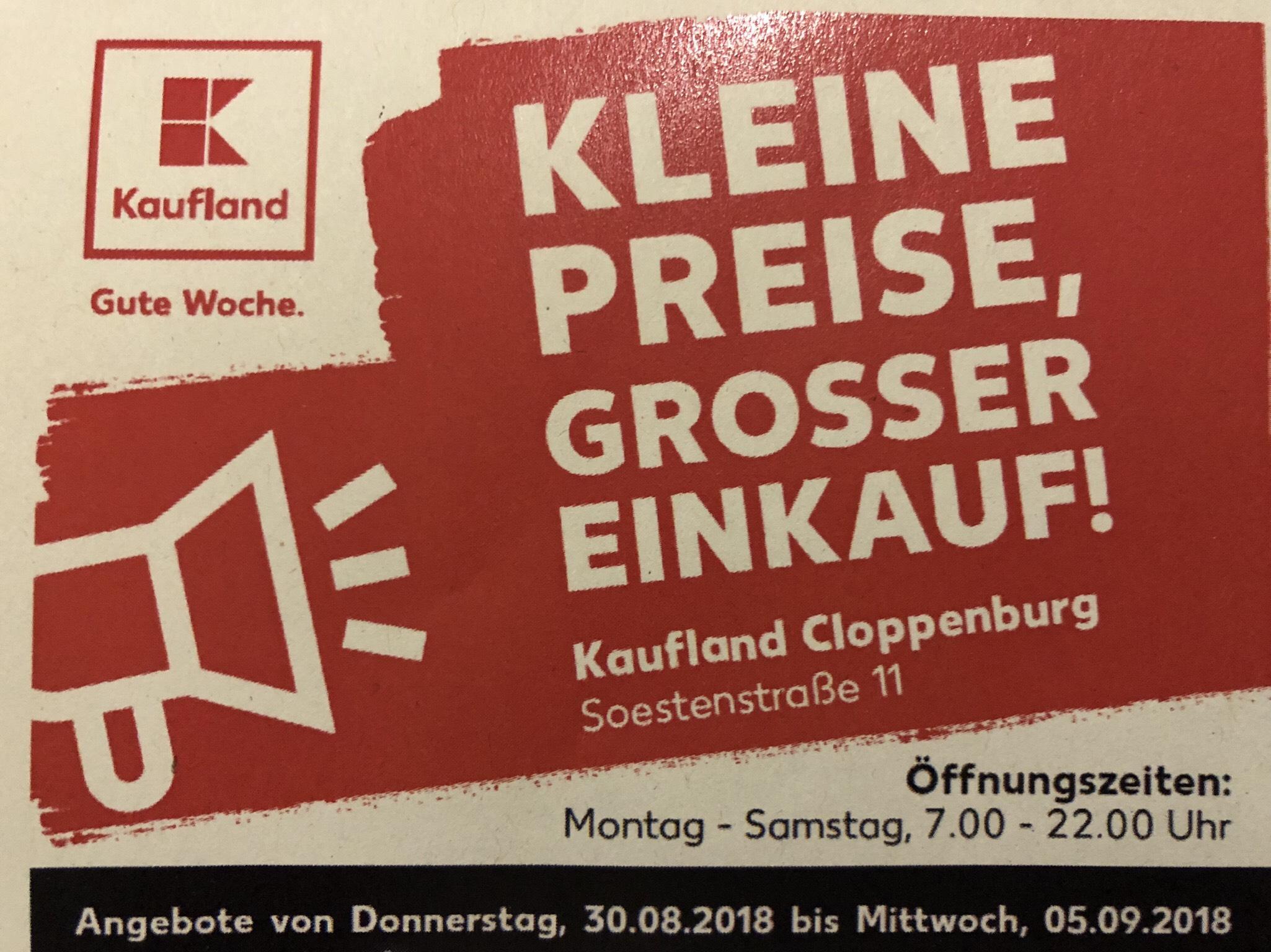 Lokal?] Kaufland Cloppenburg / Angebote 30.08.-05.09.2018 / bspw ...