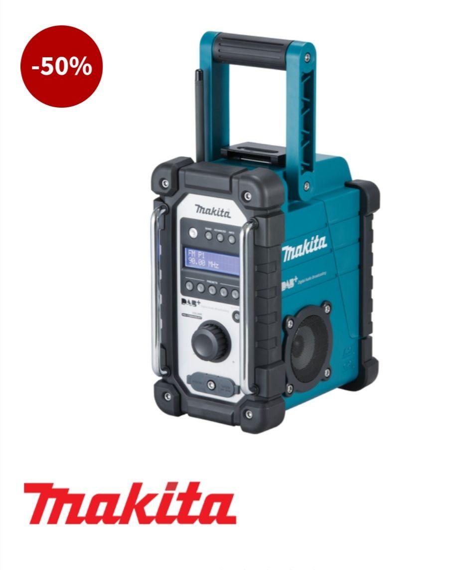 makita akku-baustellenradio dmr110 7.2 v - 18 v mit dab und dab+ und