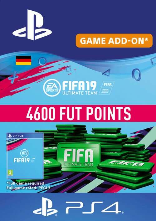 fifa 19 4600 fifa points ps4 germany f r 33 99 bei. Black Bedroom Furniture Sets. Home Design Ideas