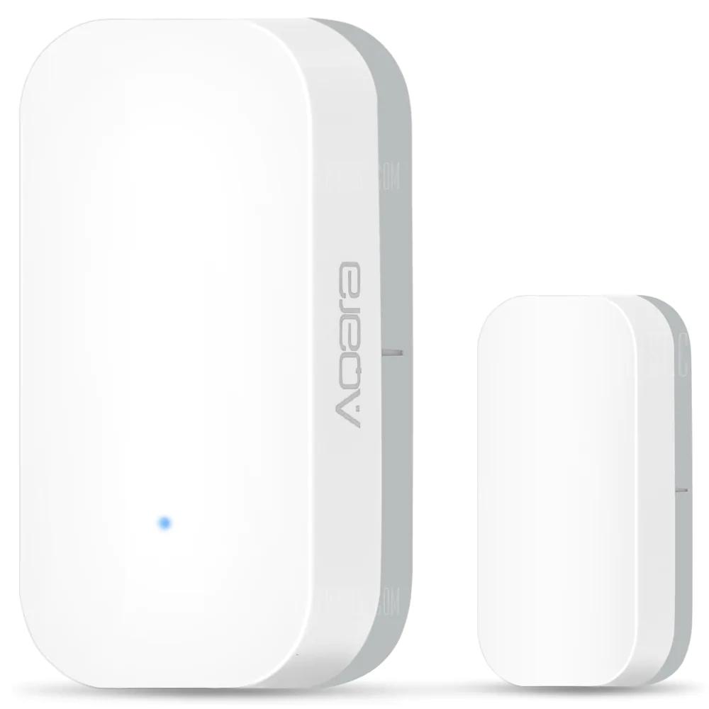 Xiaomi Aqara Window Door Sensor Milk White Fenster Tr Original Zigbee Wireless Connection App Control Multi Purpose Smart Home