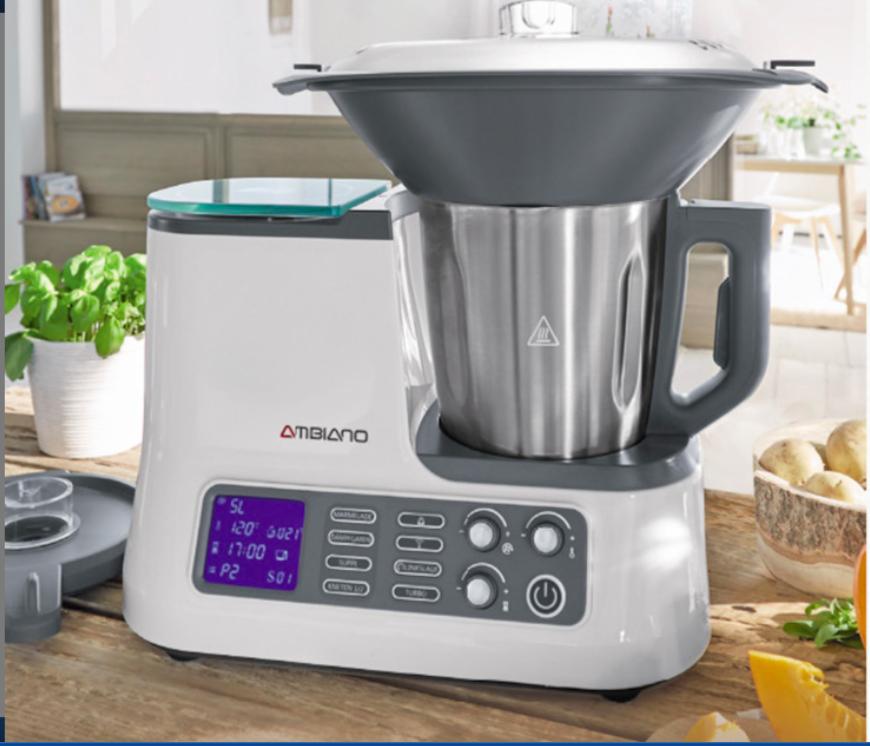 Aldi Süd ab 25.10.: Küchenmaschine mit WLAN Funktion (Thermomix Klon ...