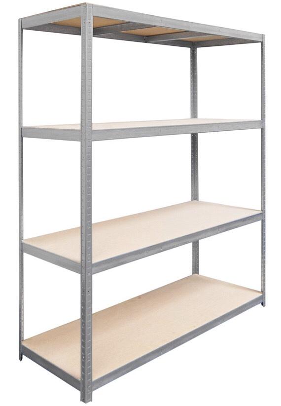 metall schwerlast steckregal verzinkt 180 cm x 160 cm x 60 cm obi bei versand 40. Black Bedroom Furniture Sets. Home Design Ideas