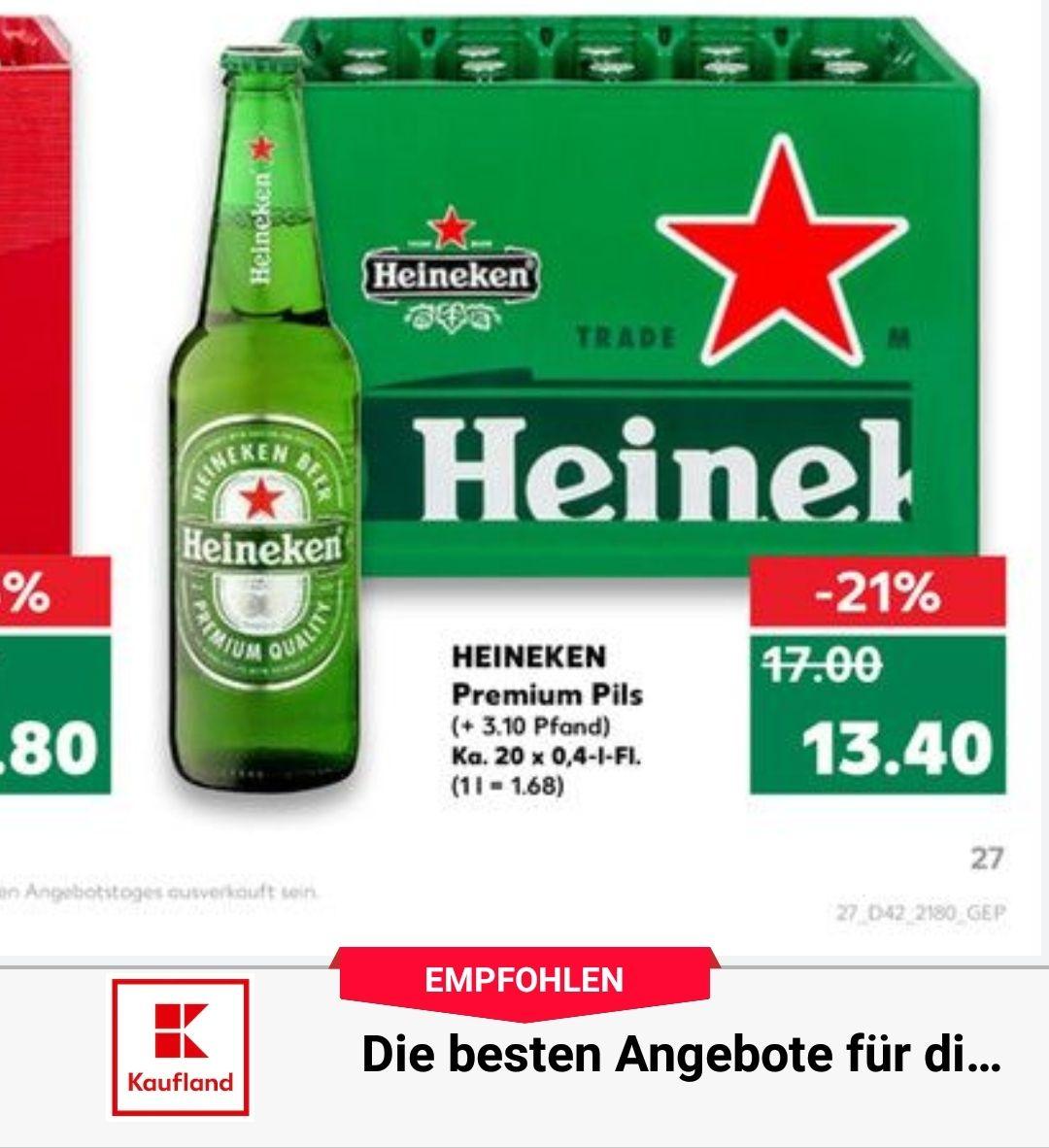1 Kiste Heineken 1monat Dazn Mydealzde
