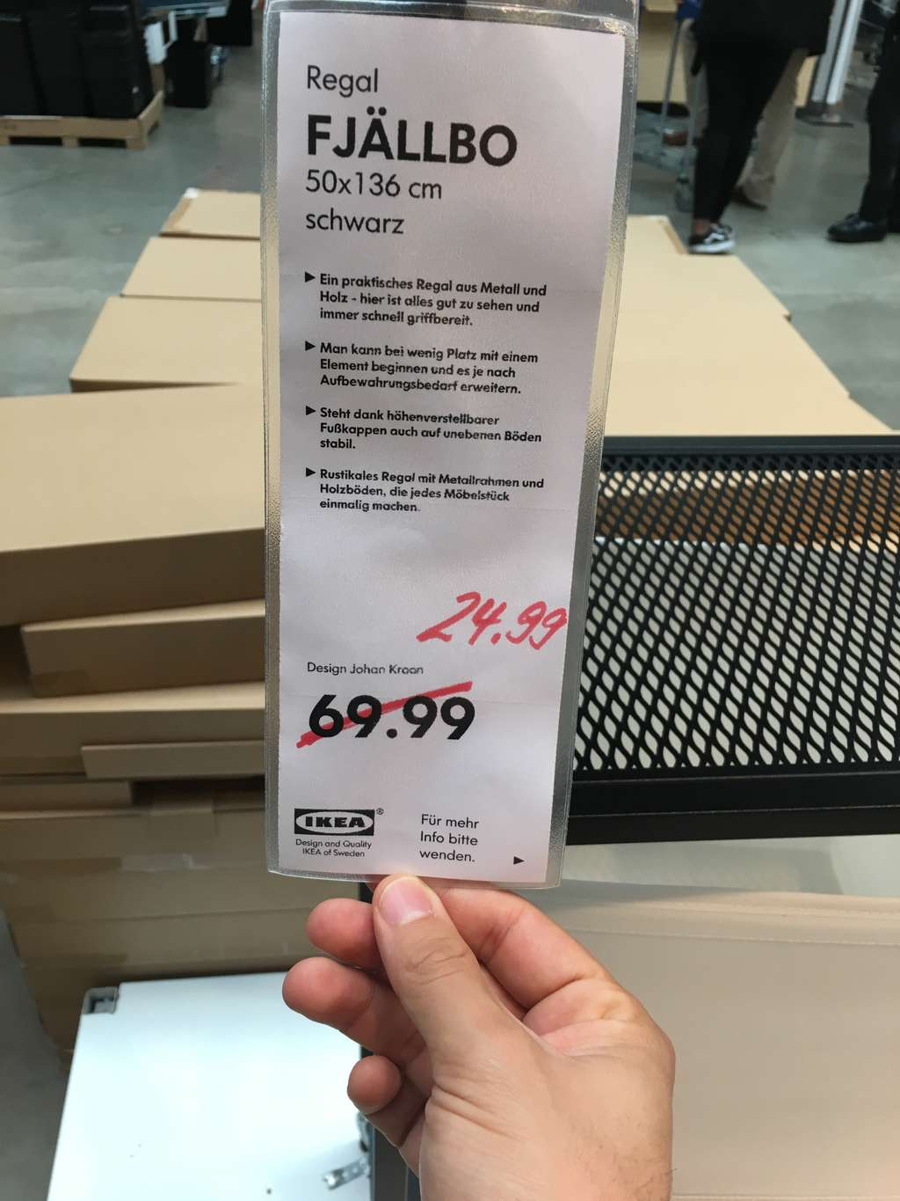 Lokal Ikea Tempelhof Fjallbo Regale Mydealz De