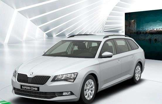 leasing umweltpr mie skoda superb combi 2 0l tdi f r 32. Black Bedroom Furniture Sets. Home Design Ideas