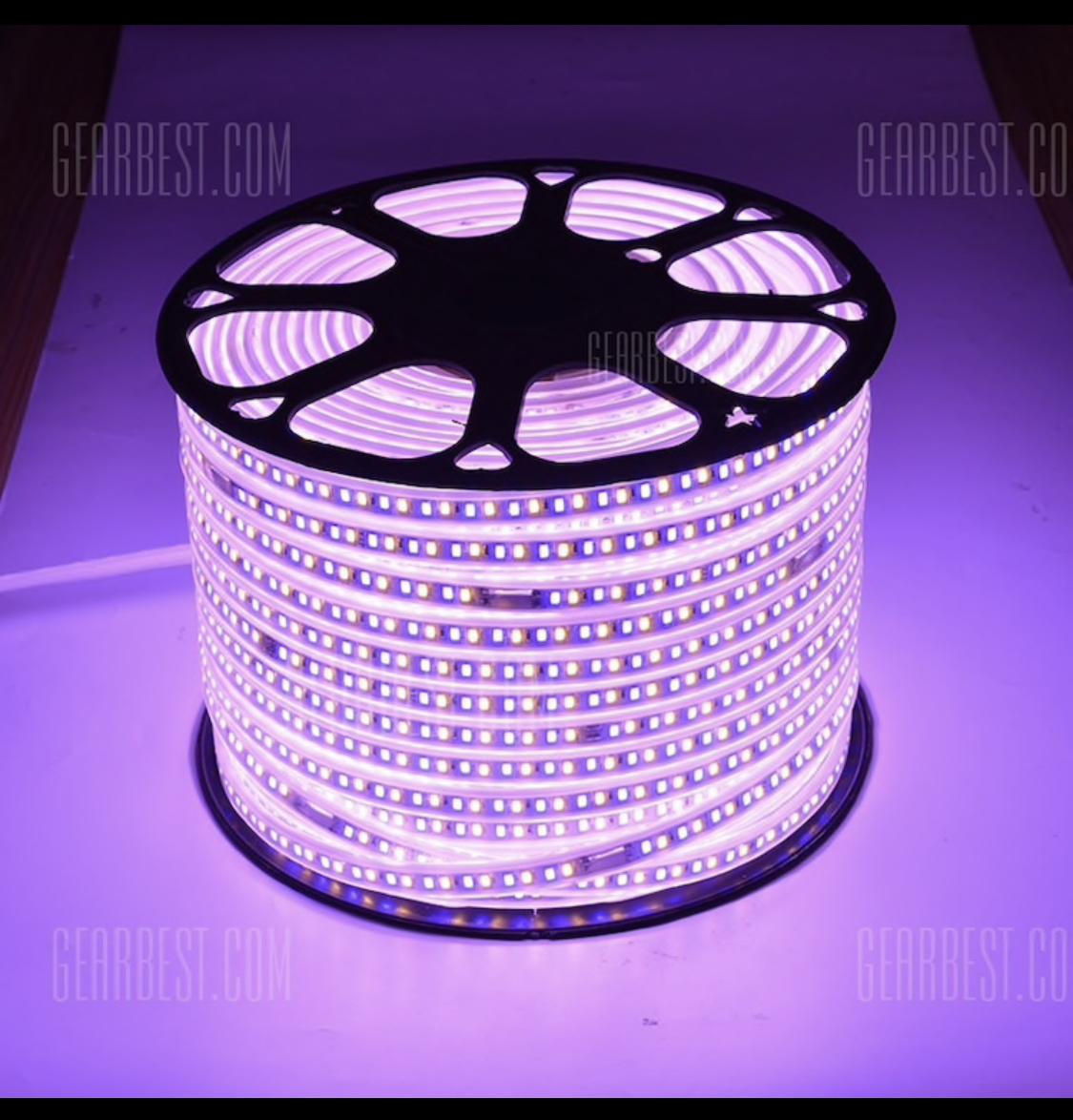 100m led band dimmbar farbig todes billig gearbest. Black Bedroom Furniture Sets. Home Design Ideas