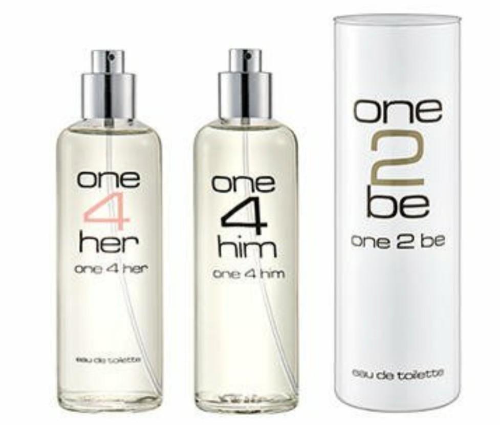 One2be One4her One4him Eau De Toilette Die Duft Klone Bei Aldi