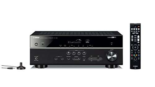 amazon tagesdeal yamaha av receiver rx v485 mc schwarz. Black Bedroom Furniture Sets. Home Design Ideas
