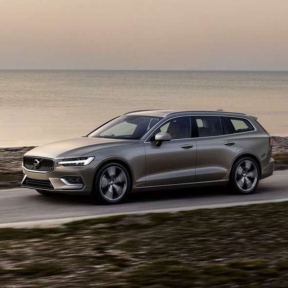 Volvo Lease Rates: Volvo V60 T5 Inscription (250 PS)