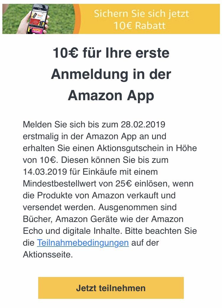 10 Amazon Gutschein Mbw 25 Mydealzde