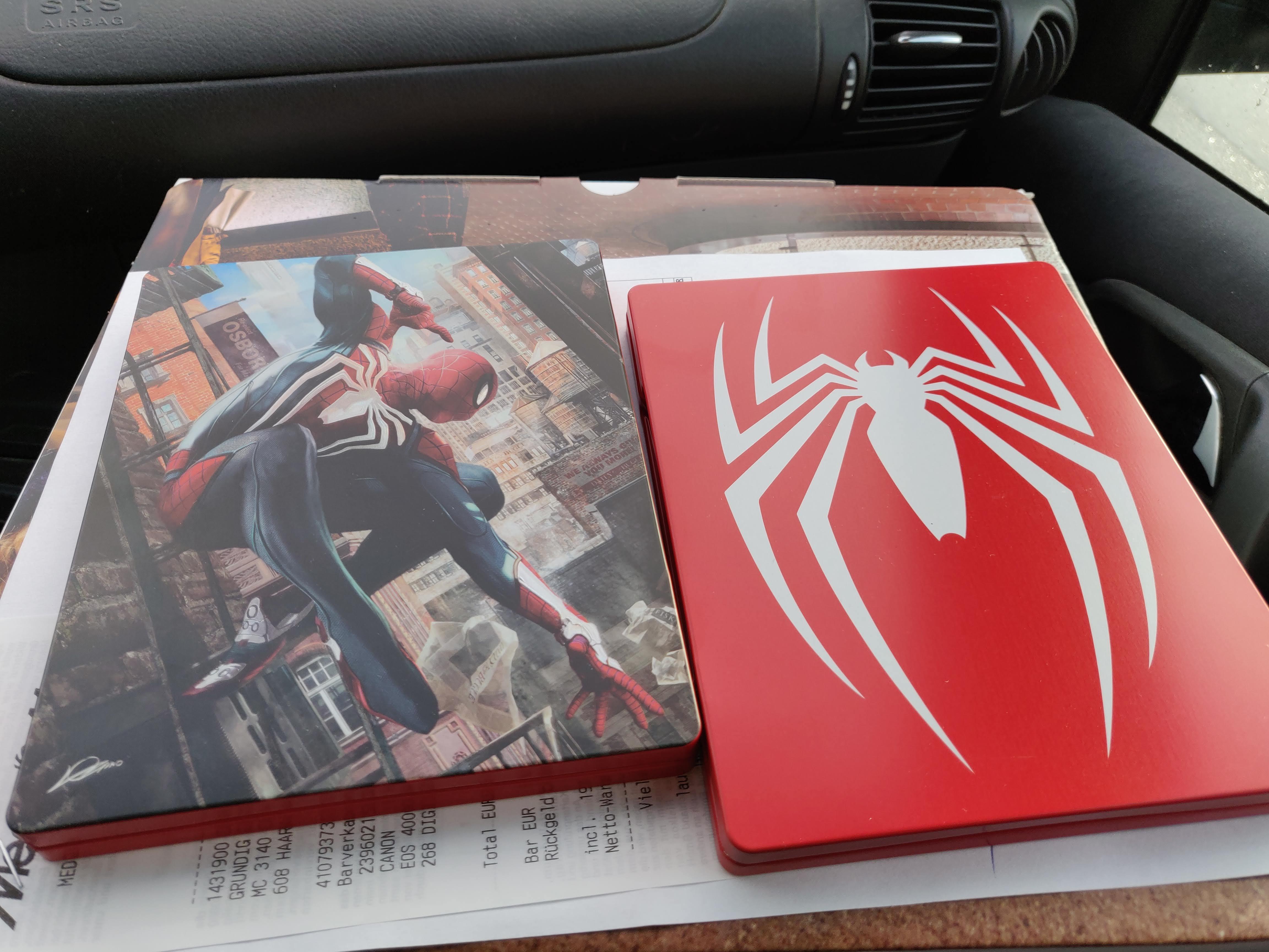 lokal media markt landau pfalz spider man ps4 steelbook. Black Bedroom Furniture Sets. Home Design Ideas