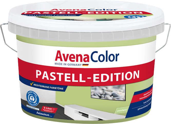 avenarius pastell color wandfarbe 5 l eimer pastellgr n cremewei rosa oder grafit ab. Black Bedroom Furniture Sets. Home Design Ideas