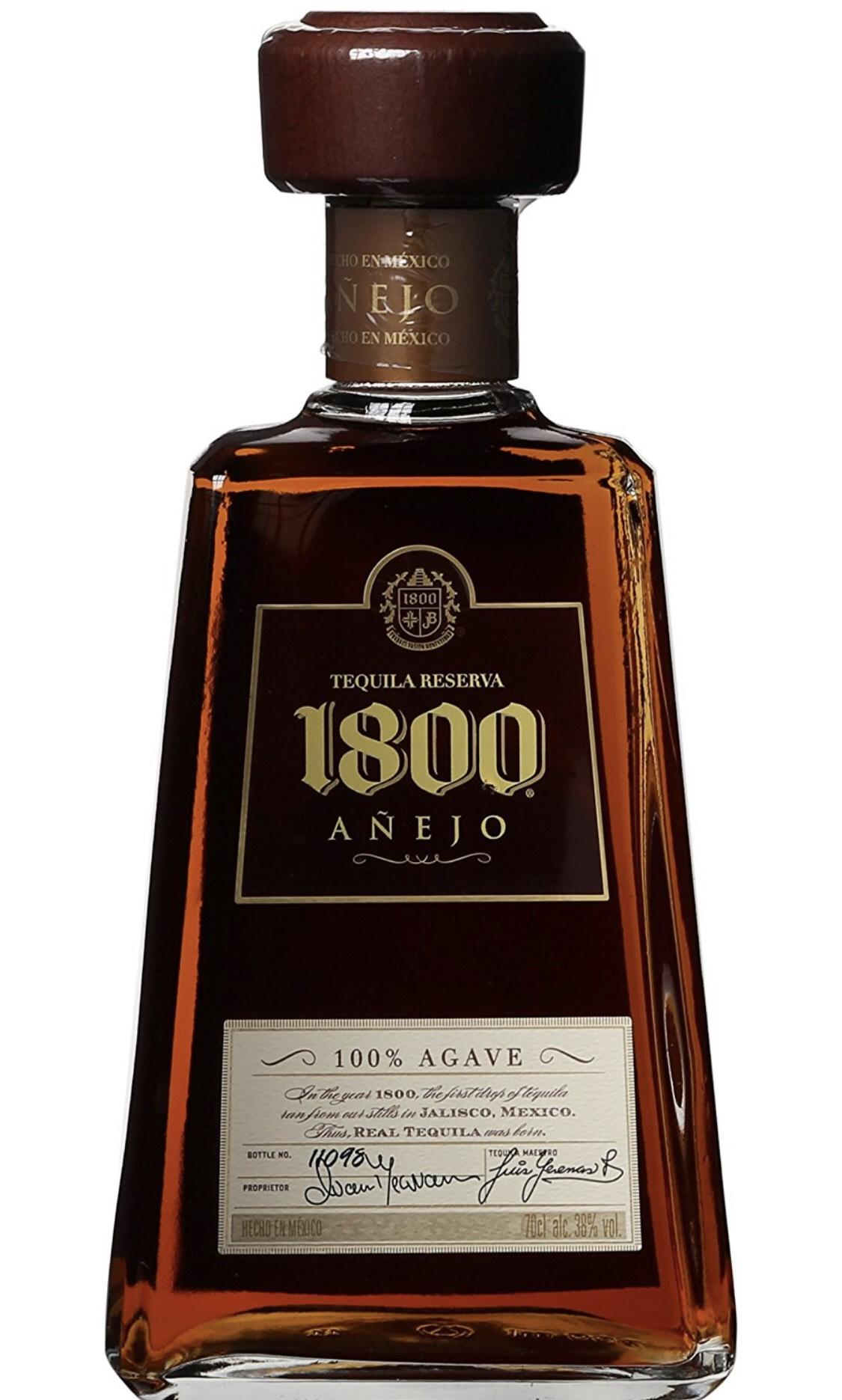 Jose Cuervo 1800 Tequila Añejo (1 x 0.7 l) für 27,19