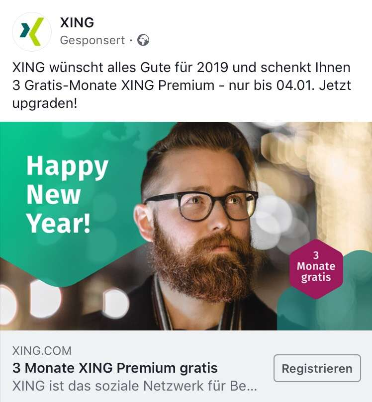 Xing premium kostenlos 2019
