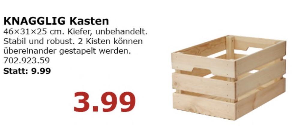 lokal ikea waltersdor berlin knagglig kiste nur am. Black Bedroom Furniture Sets. Home Design Ideas