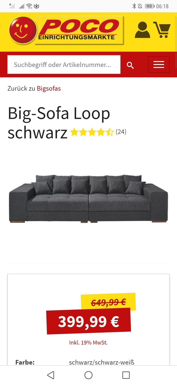 Poco Big Sofa Loop