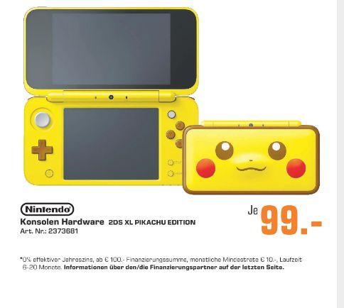 Regional Saturn Ansbach New Nintendo 2ds Xl Pikachu Edition Für 99