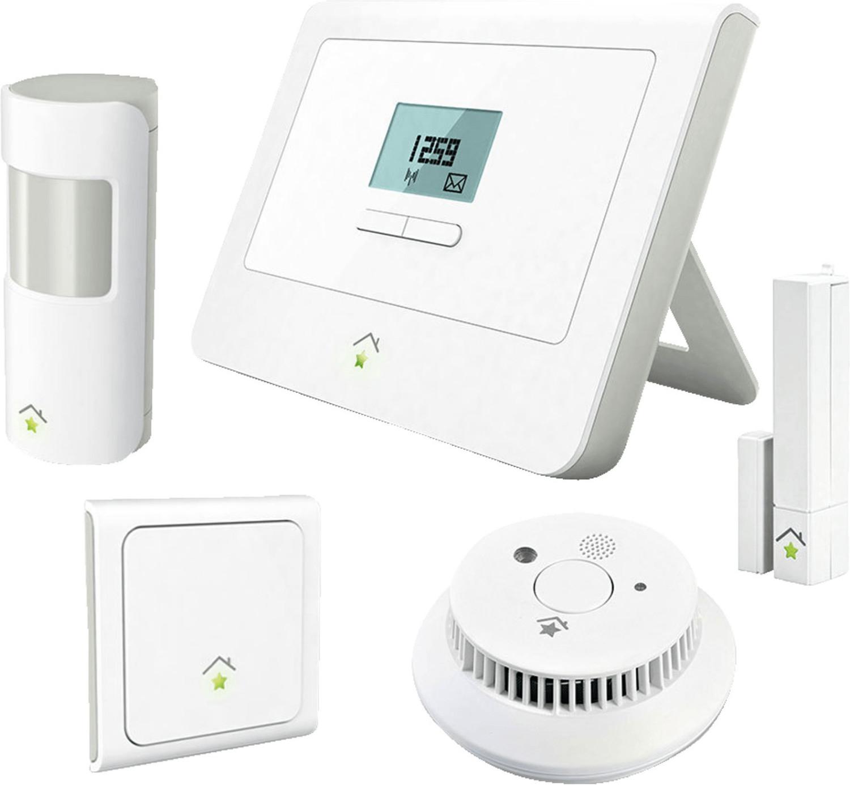 innogy smart home sicherheit starterset smarthome zentrale bewegungsmelder rauchmelder. Black Bedroom Furniture Sets. Home Design Ideas