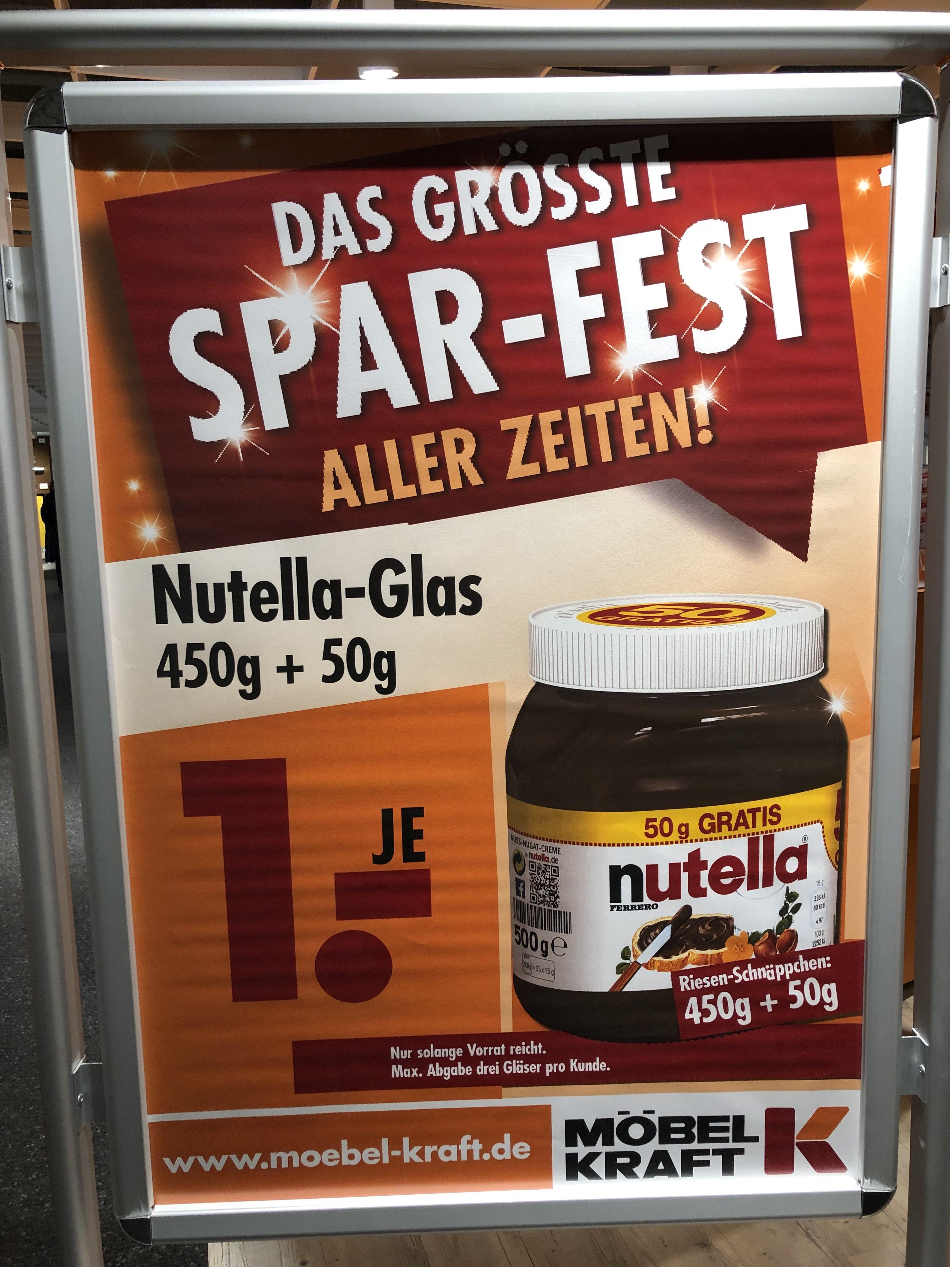 Nutella 1 Möbel Kraft Berlin Marzahn Mydealzde