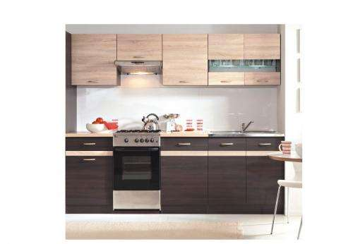 k chenzeile 230 cm f r nur 288 eur inkl lieferung. Black Bedroom Furniture Sets. Home Design Ideas