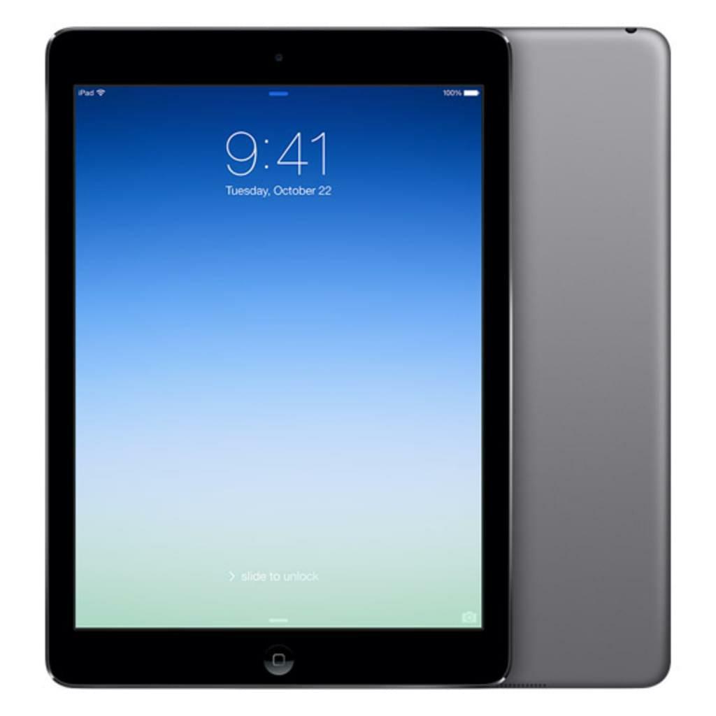 apple ipad air 16gb wifi 4g grau. Black Bedroom Furniture Sets. Home Design Ideas