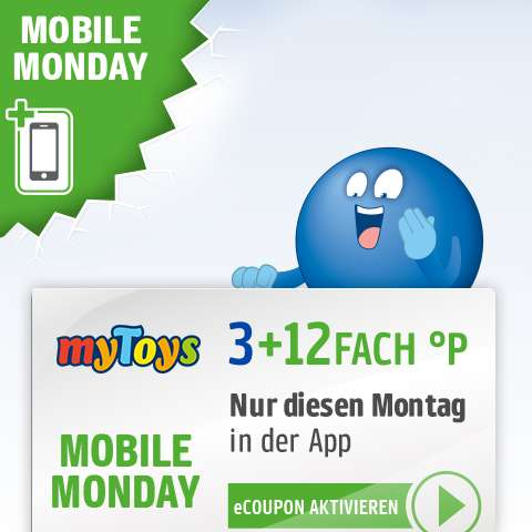 mobile monday 15 fach payback punkte bei mytoys am. Black Bedroom Furniture Sets. Home Design Ideas