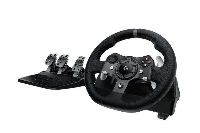amazon whd logitech g920 racing lenkrad driving force. Black Bedroom Furniture Sets. Home Design Ideas