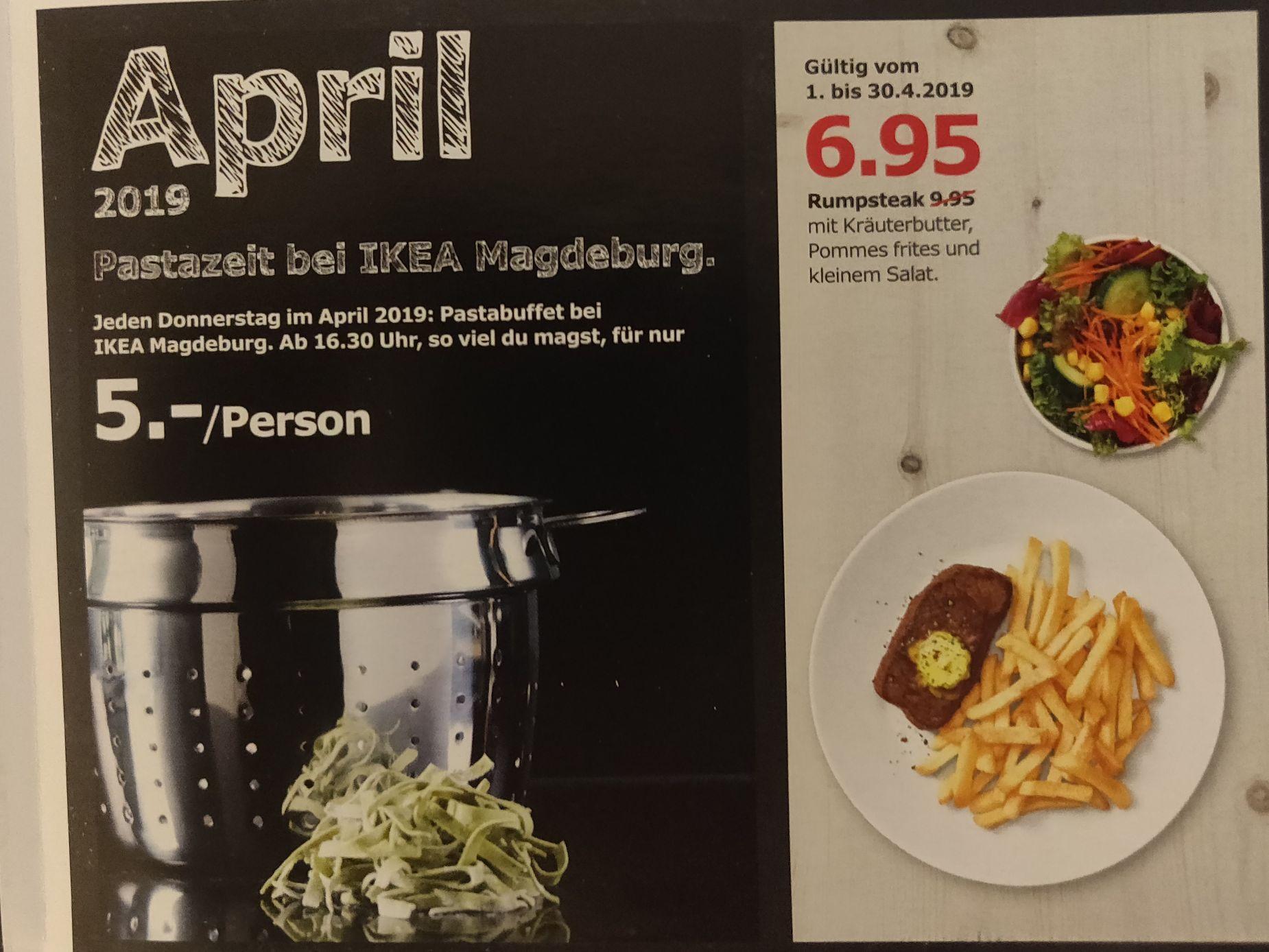 ikea magdeburg pastabuffet jeden donnerstag im april ab. Black Bedroom Furniture Sets. Home Design Ideas
