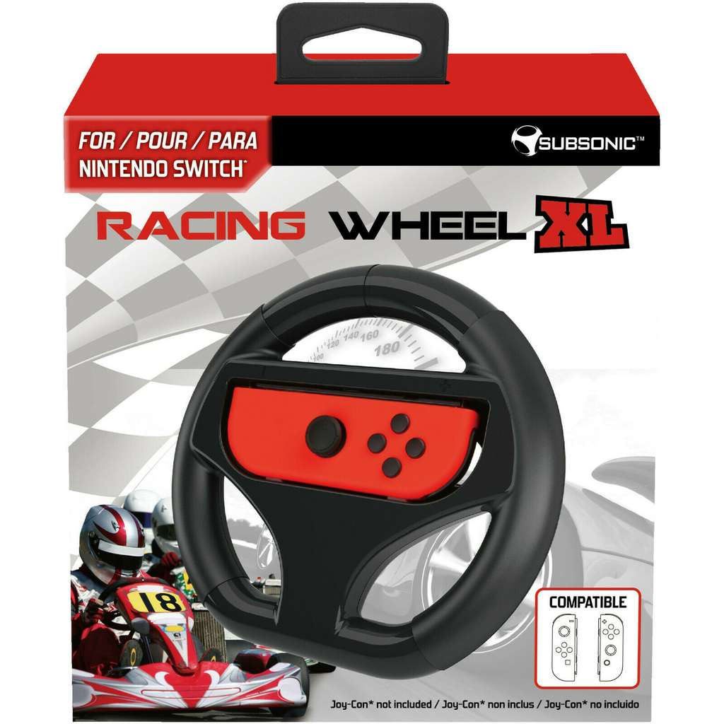 subsonic nintendo switch racing wheel xl lenkrad f r 5 70. Black Bedroom Furniture Sets. Home Design Ideas