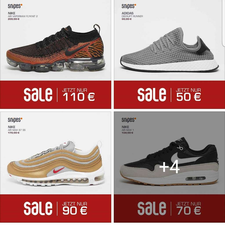 4f985c8462 [LOKAL HANNOVER] Snipes Georgstrasse ab 26.04. div. Schuhe z.B. Nike Air  Max 97 / Nike Vapomax / Adidas Deerupt / Adidas Stansmith - mydealz.de