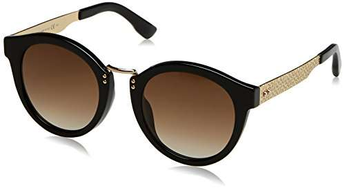 jimmy choo damen sonnenbrille pepy gold schwarz amazon. Black Bedroom Furniture Sets. Home Design Ideas