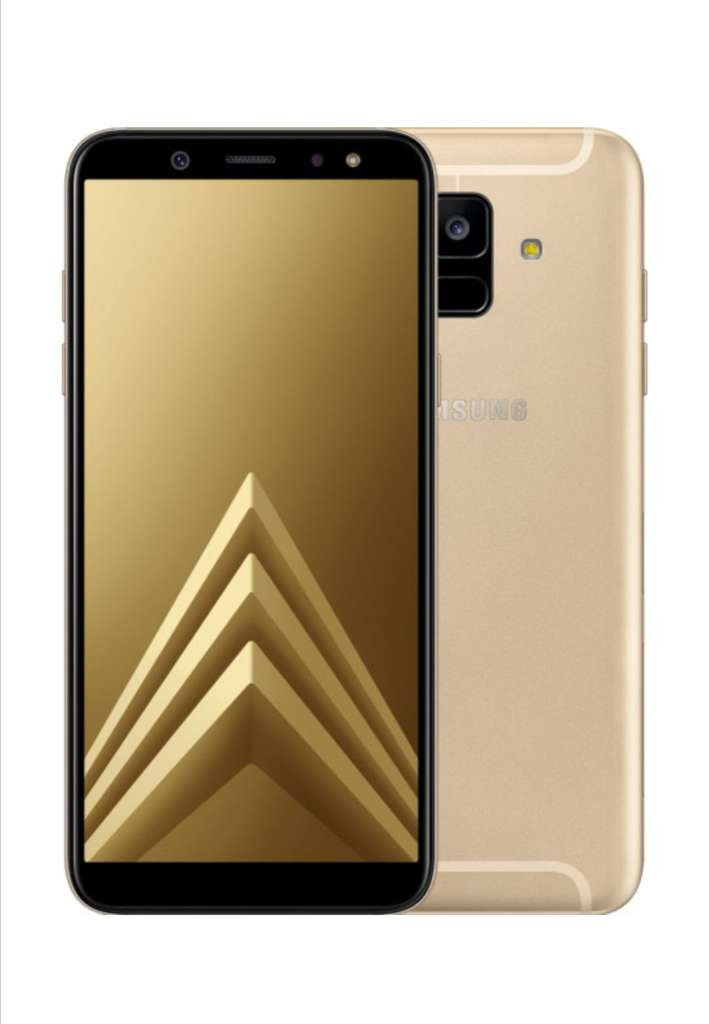 samsung galaxy a6 2018 32gb gold lavender dual sim f r. Black Bedroom Furniture Sets. Home Design Ideas