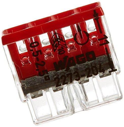 amazon prime wago 2273 204 compact dosenklemme 4 x 0 5 2 5 mm 100 stk. Black Bedroom Furniture Sets. Home Design Ideas