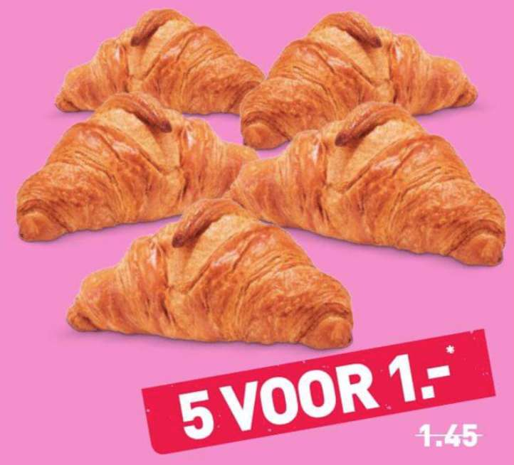 5x buttercroissant f r 1 aldi lidl in den niederlanden. Black Bedroom Furniture Sets. Home Design Ideas