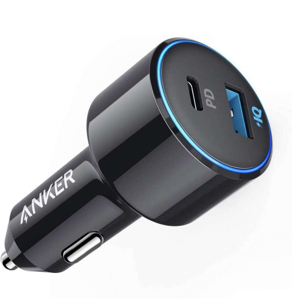 anker auto ladeger t 42w powerdrive speed duo usb c kfz. Black Bedroom Furniture Sets. Home Design Ideas