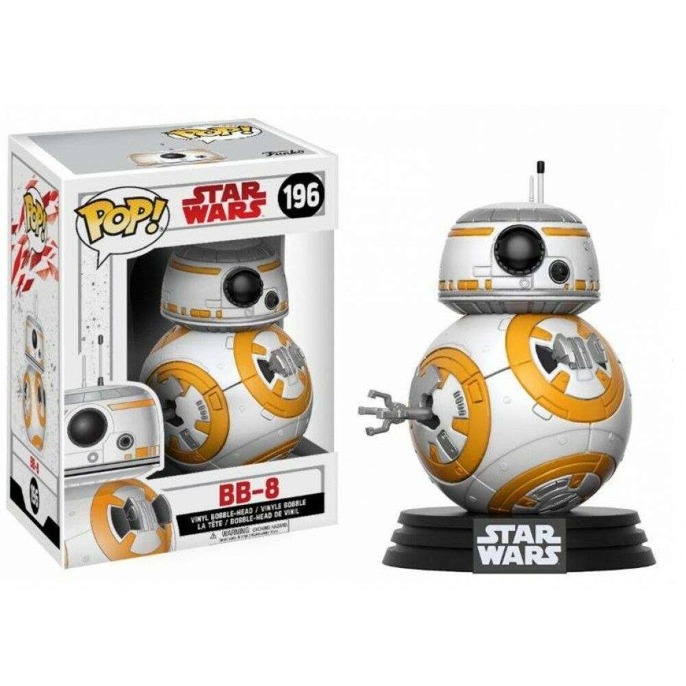 funko pop star wars the last jedi 196 bb 8 figur f r 7. Black Bedroom Furniture Sets. Home Design Ideas
