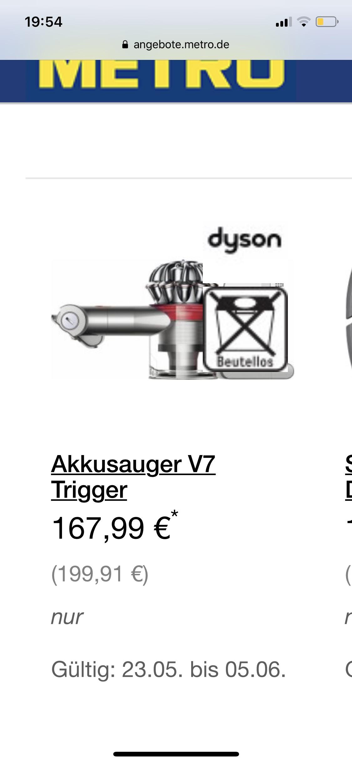 dyson akkusauger v7 trigger. Black Bedroom Furniture Sets. Home Design Ideas