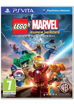 lego marvel super heroes universum in gefahr ps vita. Black Bedroom Furniture Sets. Home Design Ideas