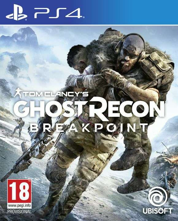 ghost recon breakpoint standard edition ps4 vorbestellen. Black Bedroom Furniture Sets. Home Design Ideas