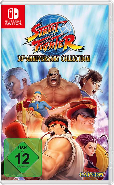 street fighter 30th anniversary collection switch f r. Black Bedroom Furniture Sets. Home Design Ideas