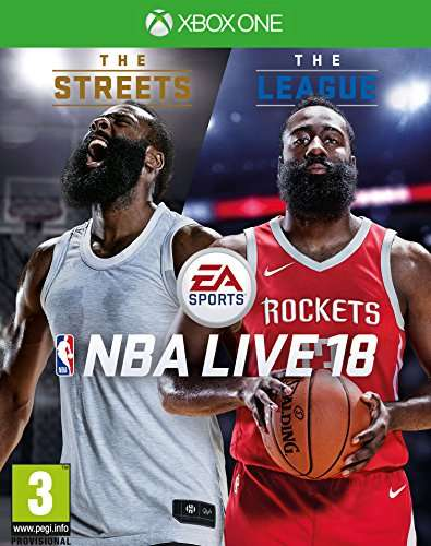 nba live 18 the one edition xbox one f r 9 04 amazon. Black Bedroom Furniture Sets. Home Design Ideas