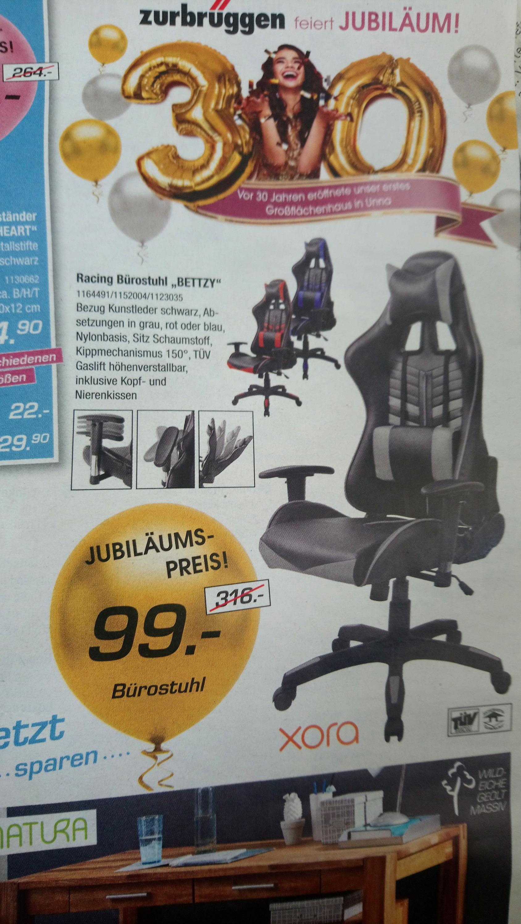 29 99€ Gaming Stuhl Zurbrüggen Bürostuhlversand pqSzUMVG