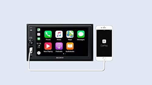 sony xav ax1000 autoradio mit apple carplay 6 2. Black Bedroom Furniture Sets. Home Design Ideas